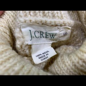 J. Crew Sweaters - 🔥J CREW Wool Fisherman🔥Style Turtleneck